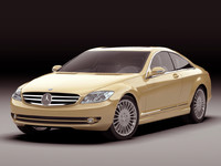 3ds max mercedes cl 2007
