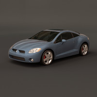 3d model of mitsubishi eclipse