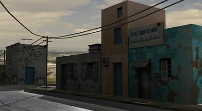 slum district road 3ds - Slum district road... by Hespasoft