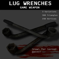 lug wrenches horror 3ds free
