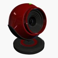 3d model web camera