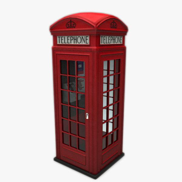 K2 Telephone Box