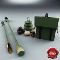 Old Field Gun Equipment Collection