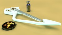 cinema4d prince c guitar