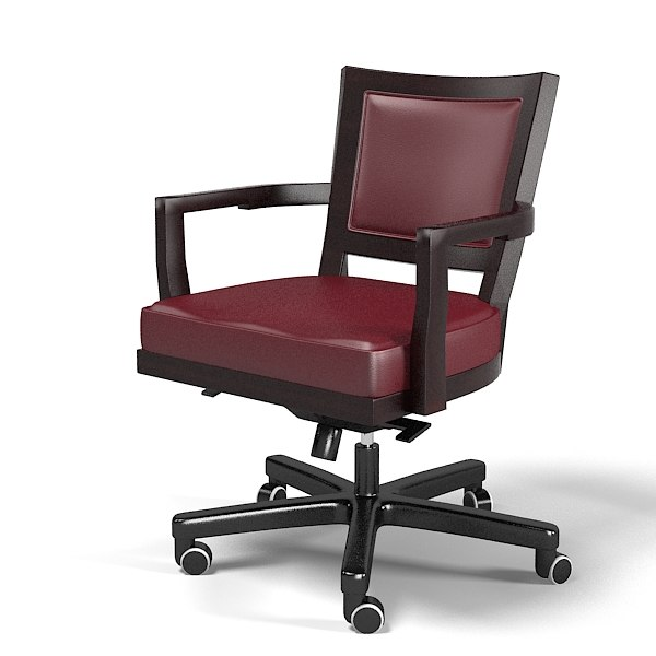 Promemoria Caffe ufficio executive work task armchair chair swivel leather office leather.jpg
