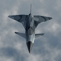 free fighter jet 3d model