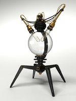 Steampunk Lamp Type No.01