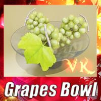 Green Grapes + Fruit bowl