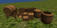 Crates and Barrels Prop Pack