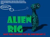 cartoon alien rig c4d free