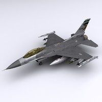 general dynamics f-16 fighting falcon 3d 3ds