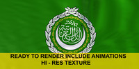 animations arab league 3d ma