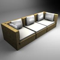 max domino sofa