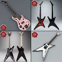 3d guitars v1 model