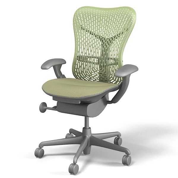 herman miller mirra ergonomic office task executive swivel