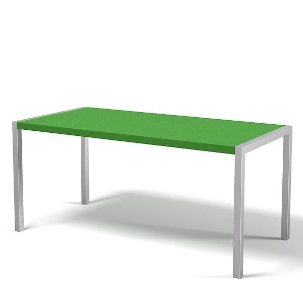 Kristalia Sushi Alucompact table desk modern contemporary