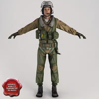Military Pilot V2 Static