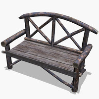 free 3ds mode landscape park bench natural