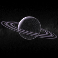3ds max planet rings