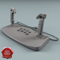 playstation analog joystick 3d 3ds