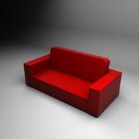 3d sky sofa