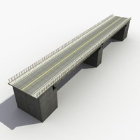3d model overpass bridge