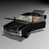pontiac gto 1966 3ds
