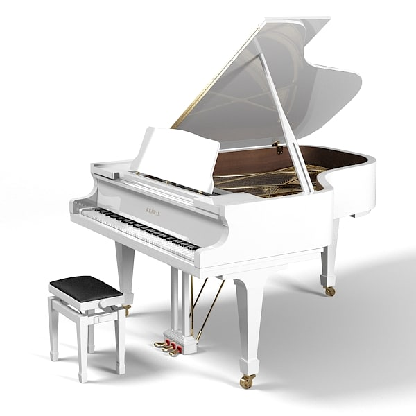 kawai rx5 artist concert grand piano white with adjustable bench stool.jpg