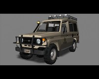 Toyota Land Cruiser 70 series Desert Safari edition