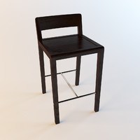 3d bryant chair porada model