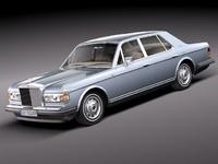 3d rolls royce silver spirit-spur model