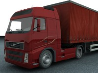 new truck trailer obj