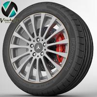 wheel Mercedes CLS 1