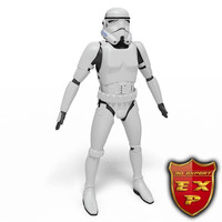 3ds trooper robot