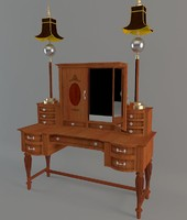 3d provasi dressing table