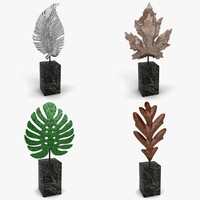 dxf leaf decoration