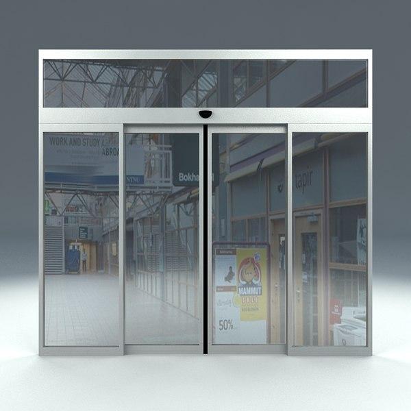 Automatic Sliding Doors 600 x 600