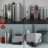 home heating systems c4d