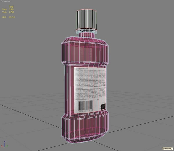 listerine bottle - - Listerine Bottle - Cinnamint... by ingenio.lab