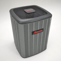 3d air unit model