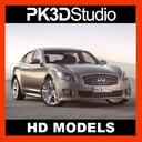 infiniti M 3D models