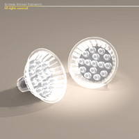 3d led light bulb lamp