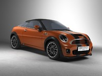 3d model mini cooper concept coupe