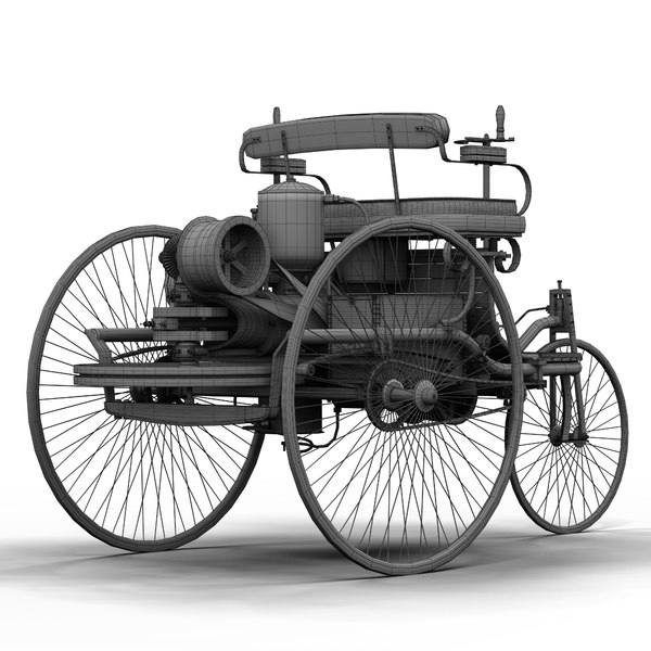 The World S First Automobile The Benz Patent Motorwagen: Benz Patent Motorwagen Motor Engine Max