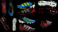 shoes predator 3d model