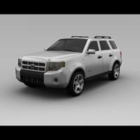 escape 2008 3d model