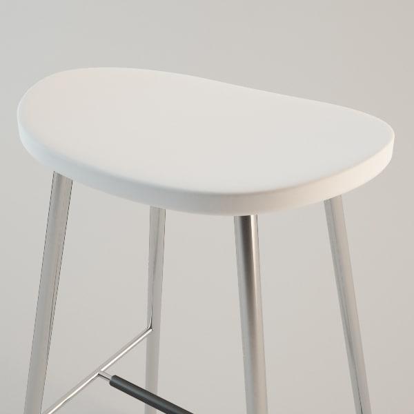 Ikea Glenn Bar Stool White