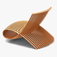3d marc newson wooden model