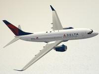 B 737-700 Delta Air Lines