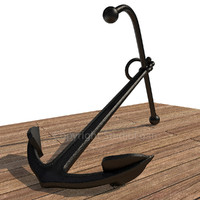 old anchor navy 3d model